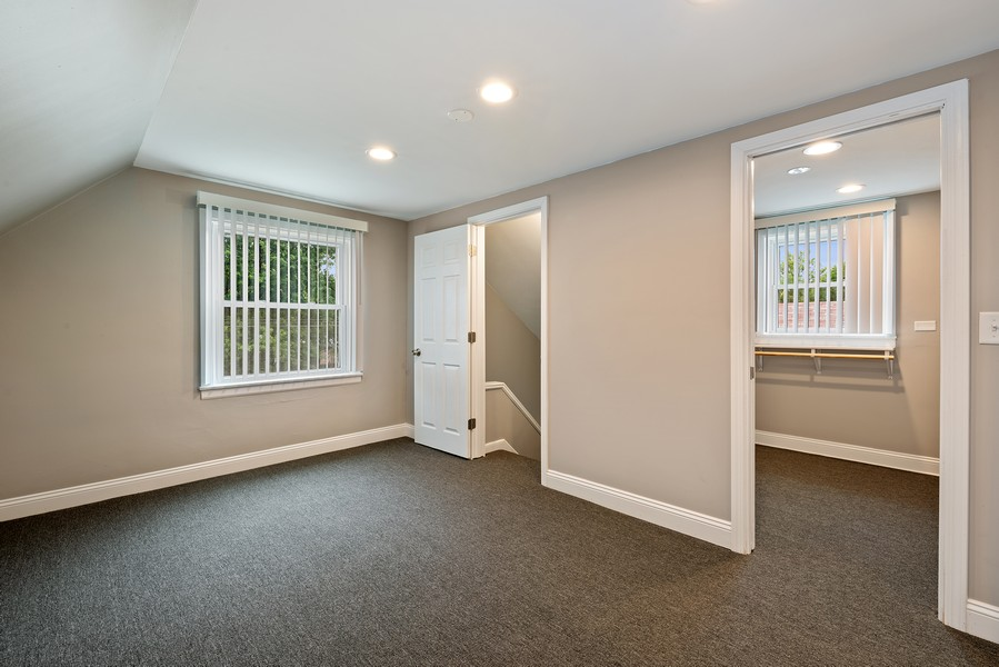 Real Estate Photography - 9043 Jeffery, Chicago, IL, 60617 - Master Bedroom Sitting Area