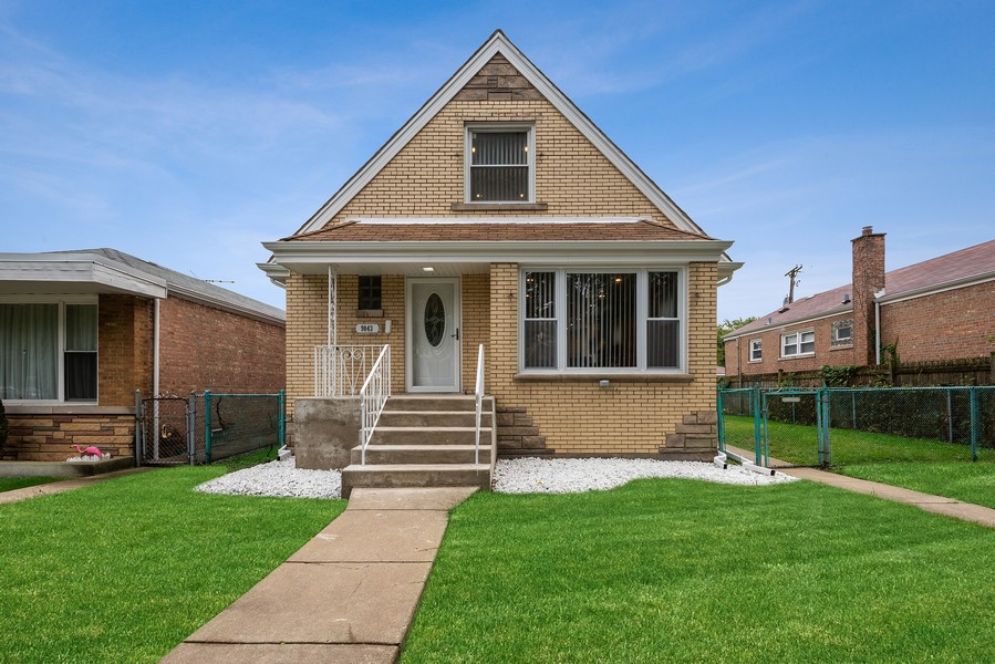 Real Estate Photography - 9043 Jeffery, Chicago, IL, 60617 - Front View