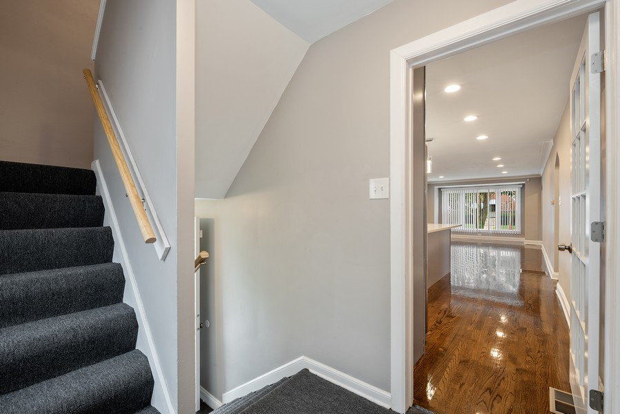 Real Estate Photography - 9043 Jeffery, Chicago, IL, 60617 - Staircase