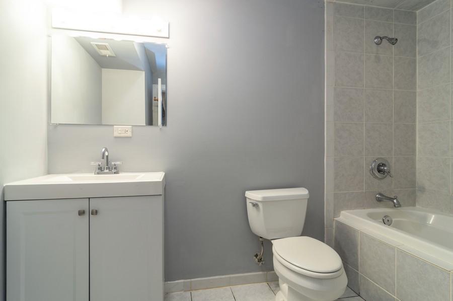 Real Estate Photography - 2443 W Harrison, unit A, Chicago, IL, 60612 - Master Bathroom