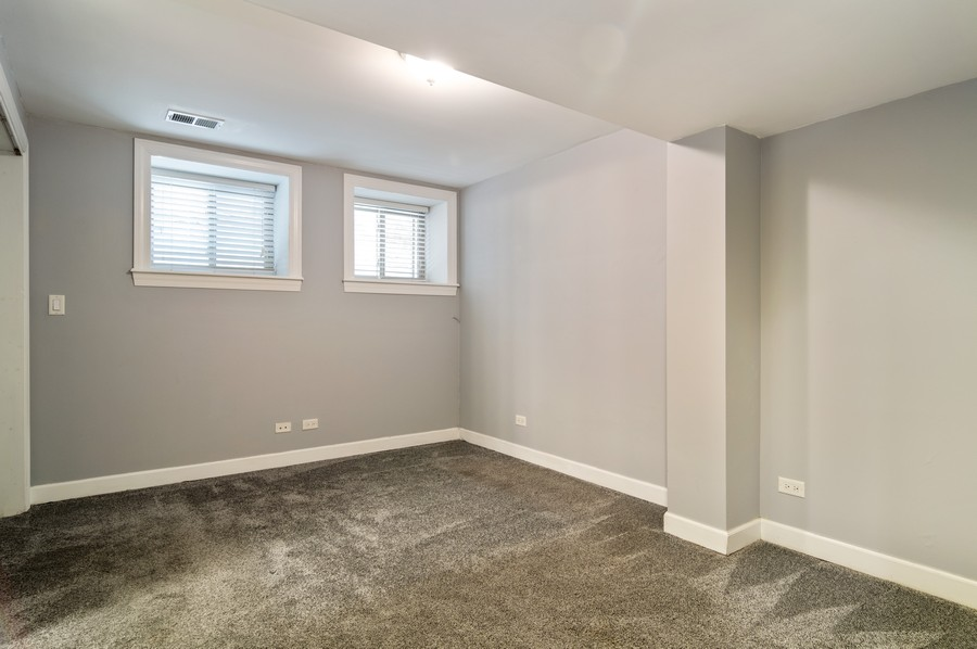 Real Estate Photography - 2443 W Harrison, unit A, Chicago, IL, 60612 - Master Bedroom