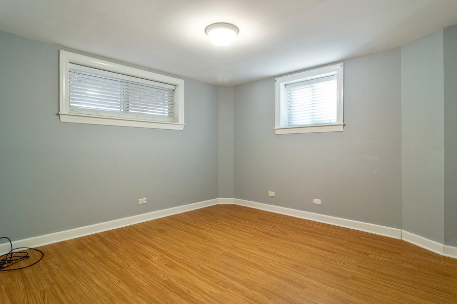 Real Estate Photography - 2443 W Harrison, unit A, Chicago, IL, 60612 - 2nd Bedroom