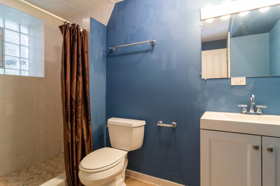Real Estate Photography - 2443 W Harrison, unit A, Chicago, IL, 60612 - Bathroom