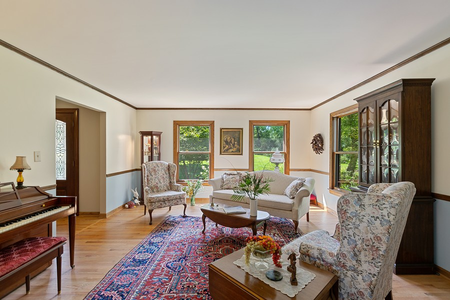 Real Estate Photography - 7350 Great Hill Rd, Crystal Lake, IL, 60012 - Living Room