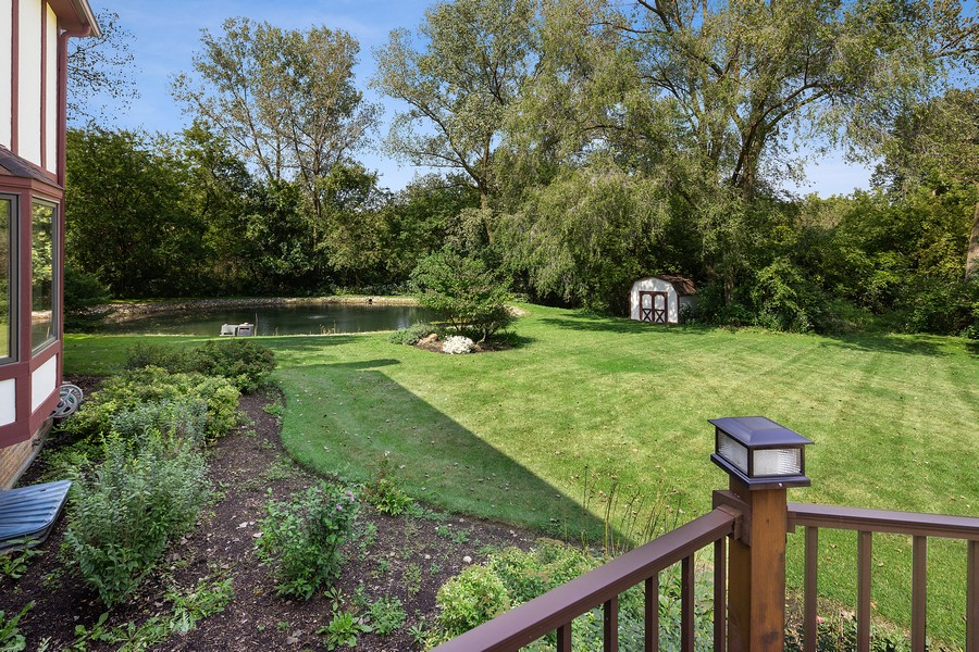 Real Estate Photography - 7350 Great Hill Rd, Crystal Lake, IL, 60012 - Back Yard