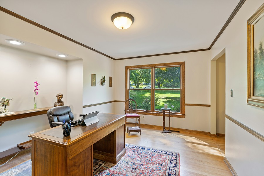 Real Estate Photography - 7350 Great Hill Rd, Crystal Lake, IL, 60012 - Office