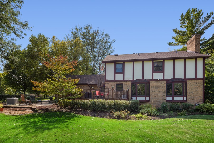 Real Estate Photography - 7350 Great Hill Rd, Crystal Lake, IL, 60012 - Rear View