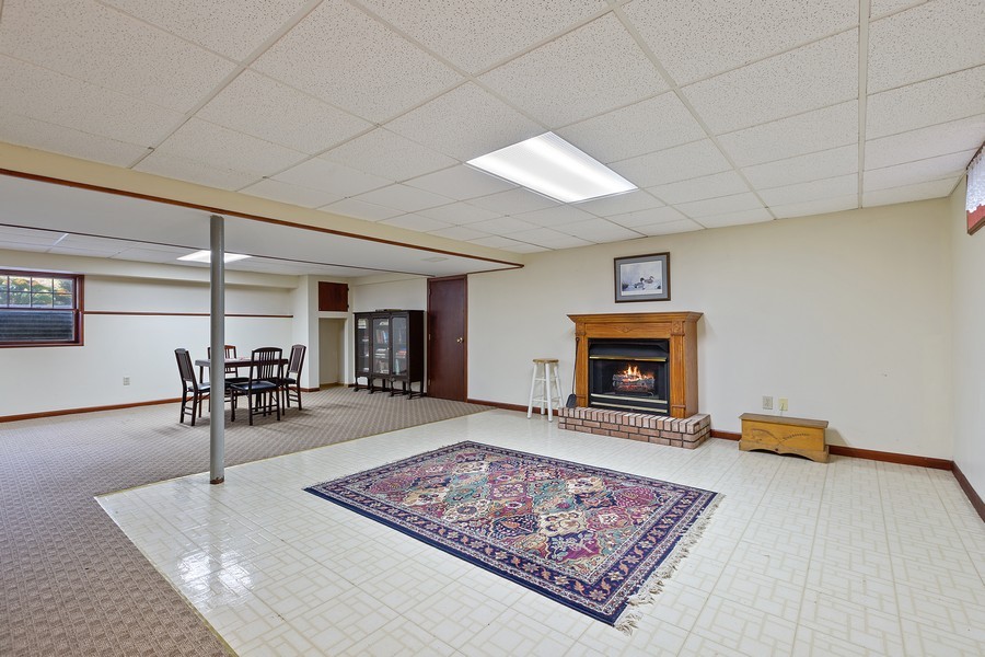 Real Estate Photography - 7350 Great Hill Rd, Crystal Lake, IL, 60012 - Play / Recreational Room