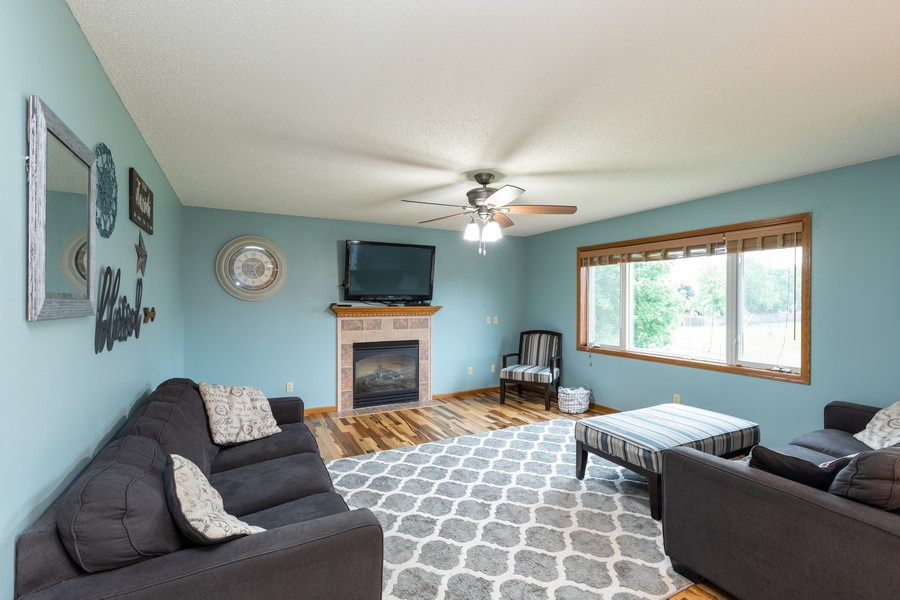 Real Estate Photography - 7273 Jordon Ave S, Cottage Grove, MN, 55016 - Living Room