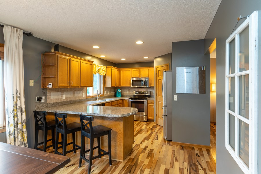Real Estate Photography - 7273 Jordon Ave S, Cottage Grove, MN, 55016 - Kitchen