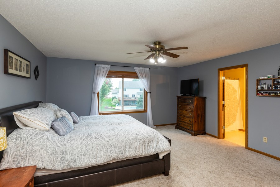 Real Estate Photography - 7273 Jordon Ave S, Cottage Grove, MN, 55016 - Master Bedroom