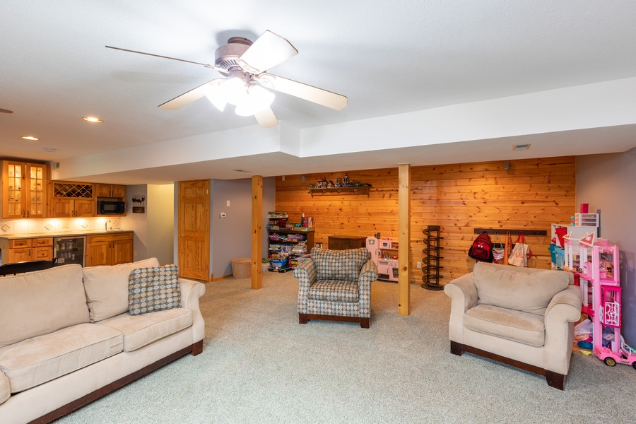 Real Estate Photography - 7273 Jordon Ave S, Cottage Grove, MN, 55016 - Family Room
