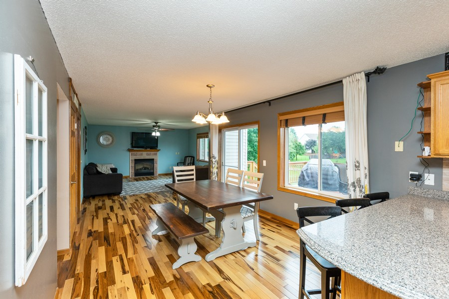 Real Estate Photography - 7273 Jordon Ave S, Cottage Grove, MN, 55016 - Kitchen / Dining Room