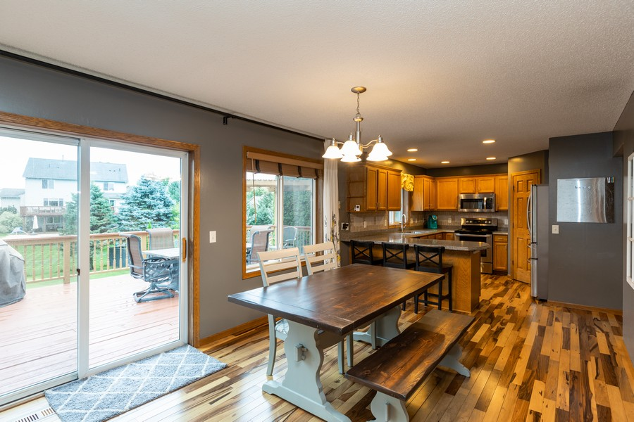Real Estate Photography - 7273 Jordon Ave S, Cottage Grove, MN, 55016 - Kitchen/Dining