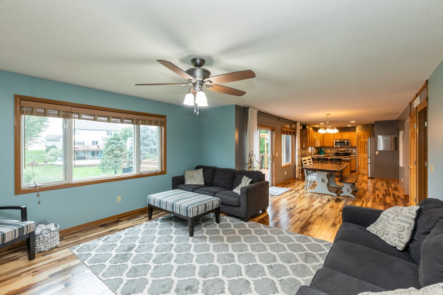 Real Estate Photography - 7273 Jordon Ave S, Cottage Grove, MN, 55016 - Living Room / Dining Room