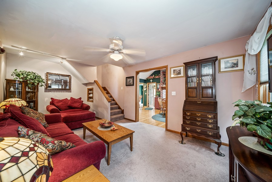 Real Estate Photography - 1014 Clay St, Woodstock, IL, 60098 - Living Room