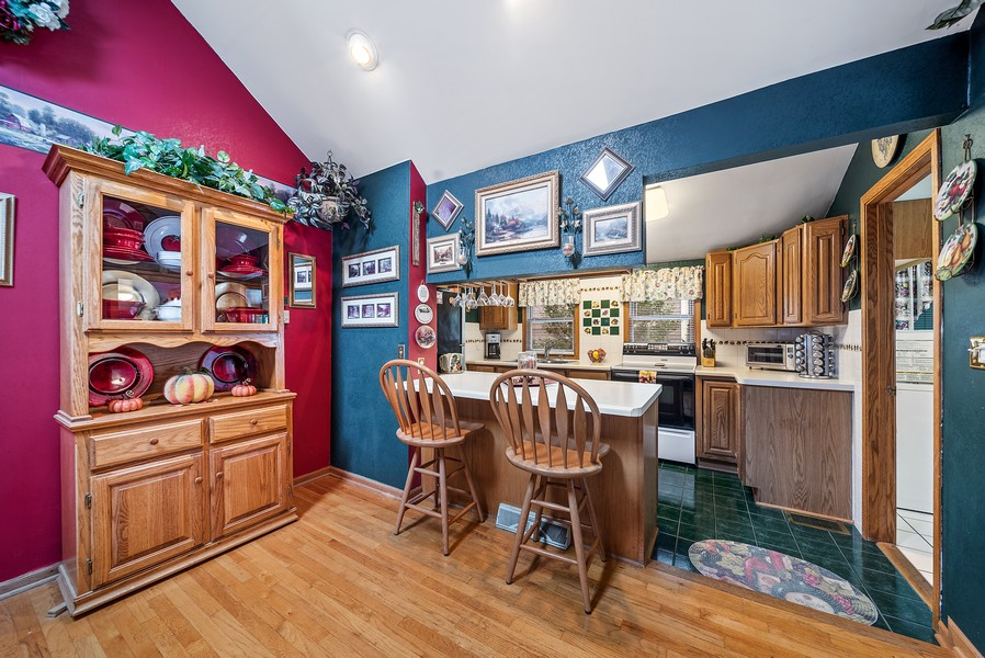Real Estate Photography - 1014 Clay St, Woodstock, IL, 60098 - Kitchen