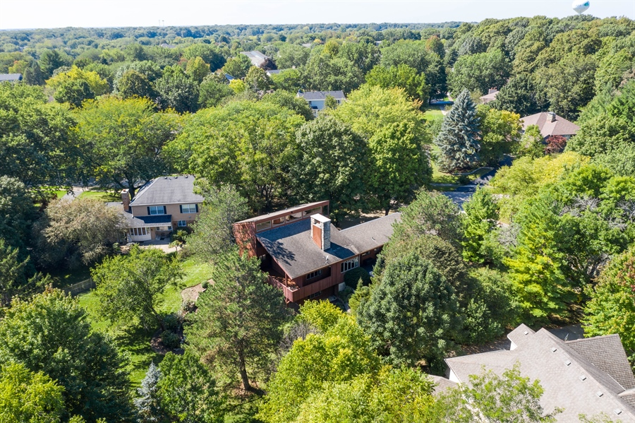 Real Estate Photography - 3 Hathaway Crescent, Sugar Grove, IL, 60554 - Aerial View