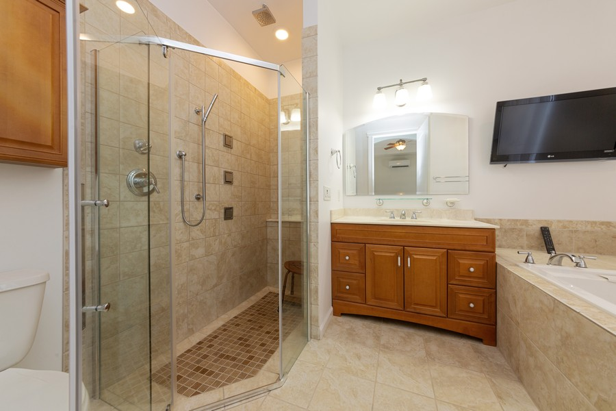 Real Estate Photography - 11144 Waterford Ave, Englewood, FL, 34224 - Master Bathroom