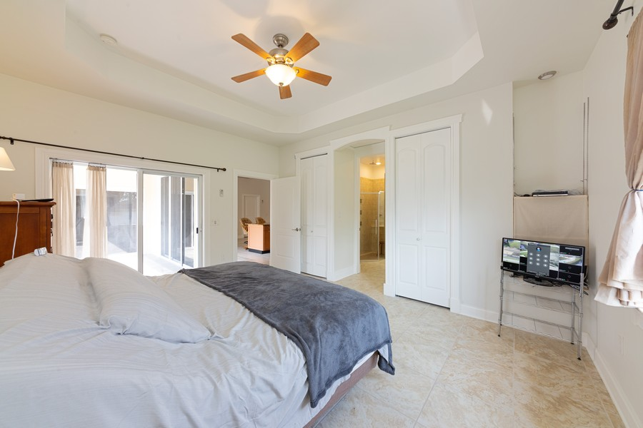 Real Estate Photography - 11144 Waterford Ave, Englewood, FL, 34224 - Master Bedroom