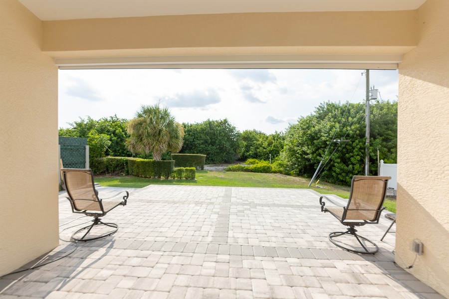Real Estate Photography - 11144 Waterford Ave, Englewood, FL, 34224 - Rear View