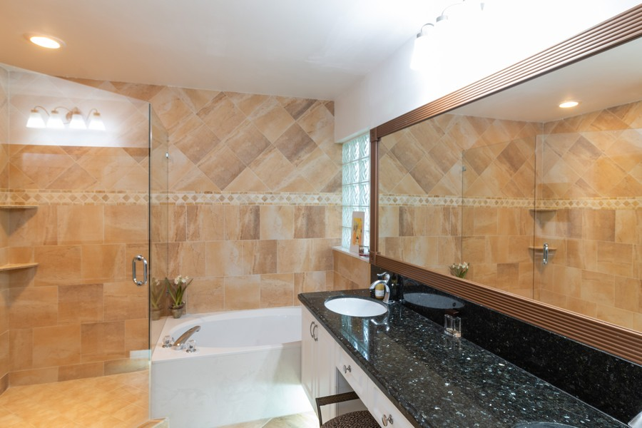 Real Estate Photography - 18336 Coral Chase Drive, Boca Raton, FL, 33498 - Master Bathroom