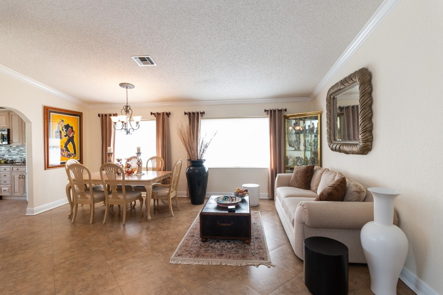 Real Estate Photography - 18336 Coral Chase Drive, Boca Raton, FL, 33498 - Great room