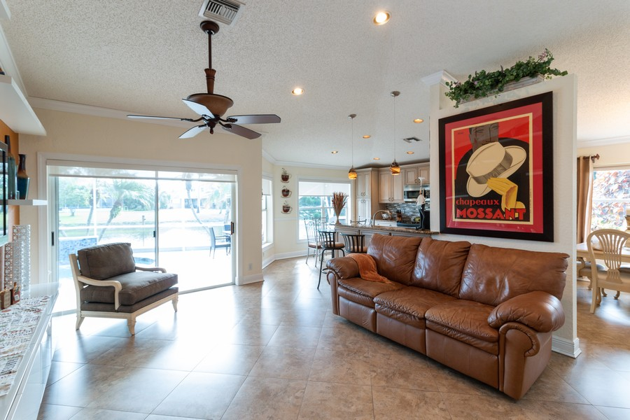 Real Estate Photography - 18336 Coral Chase Drive, Boca Raton, FL, 33498 - Family Room