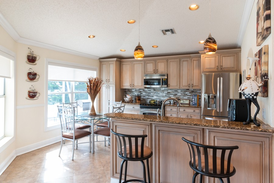 Real Estate Photography - 18336 Coral Chase Drive, Boca Raton, FL, 33498 - Kitchen