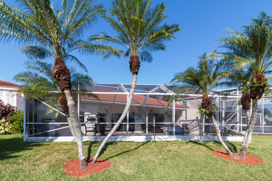 Real Estate Photography - 18336 Coral Chase Drive, Boca Raton, FL, 33498 - Rear View