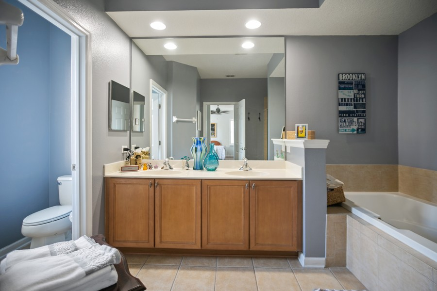Real Estate Photography - 1103 Mosaic Drive, Celebration, FL, 34747 - Master Bath 1