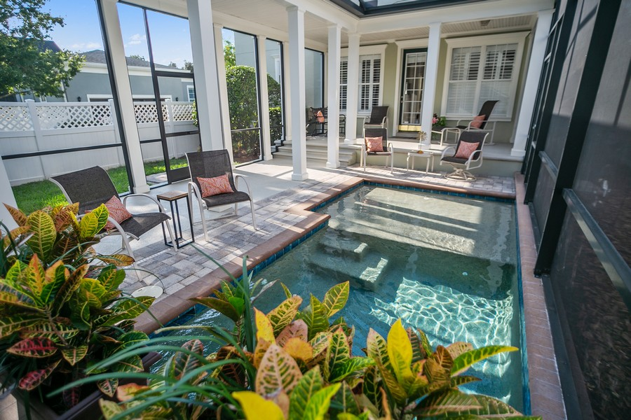 Real Estate Photography - 1103 Mosaic Drive, Celebration, FL, 34747 - Pool
