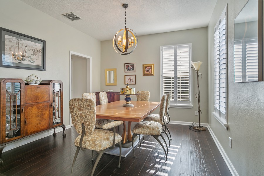 Real Estate Photography - 1103 Mosaic Drive, Celebration, FL, 34747 - Dining Room