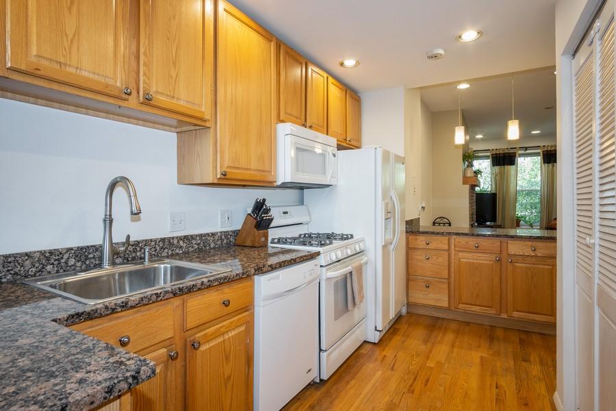 Real Estate Photography - 3949 N Saint Louis Ave, Unit 2, Chicago, IL, 60618 - Kitchen