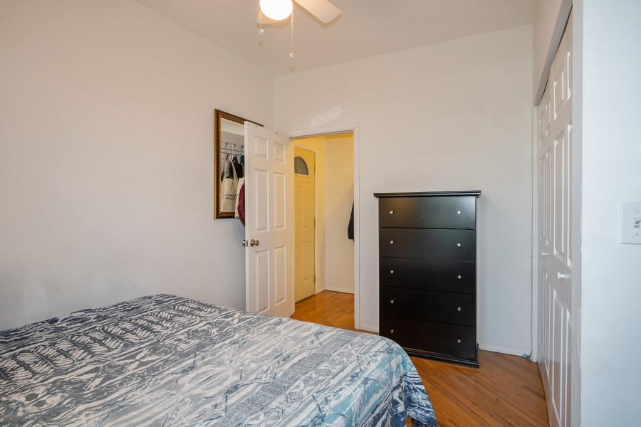 Real Estate Photography - 3949 N Saint Louis Ave, Unit 2, Chicago, IL, 60618 - Bedroom