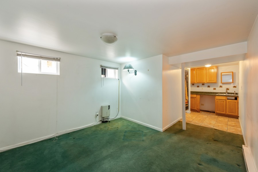 Real Estate Photography - 80-42 208th St, Queens Village, NY, 11427 - Family Room  - Basement