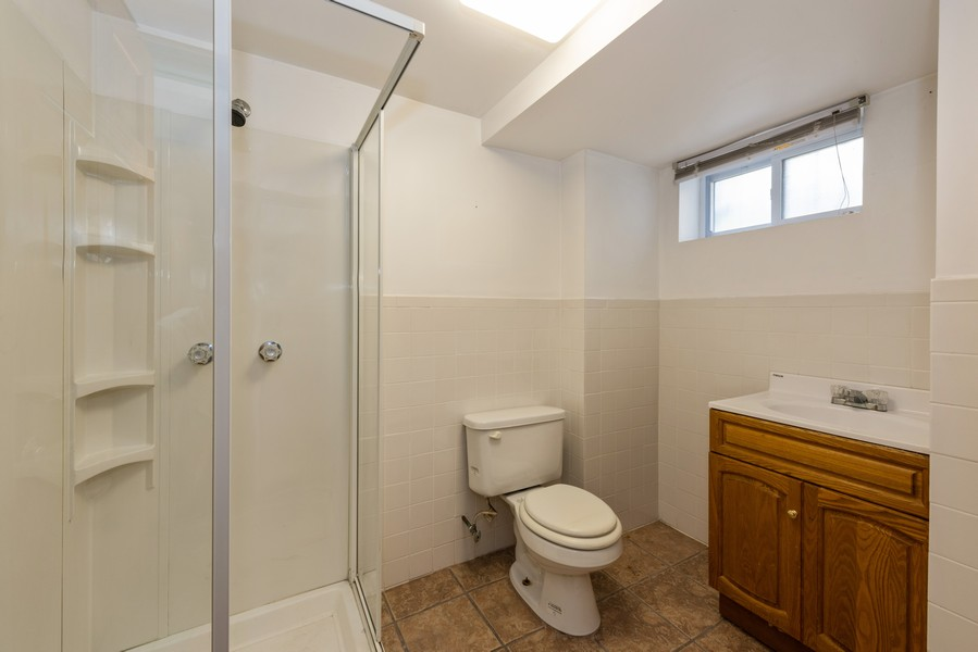 Real Estate Photography - 80-42 208th St, Queens Village, NY, 11427 - Full Bath - Basement
