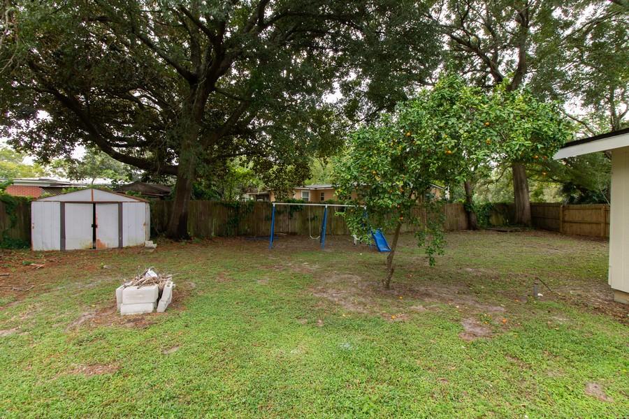 Real Estate Photography - 2519 COTILLION RD, JACKSONVILLE, FL, 32211 - Back Yard