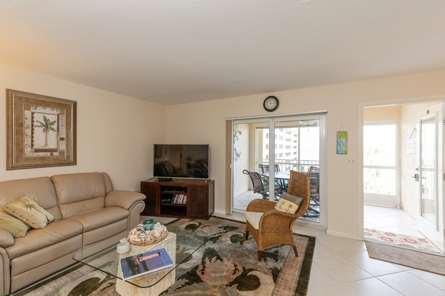 Real Estate Photography - 25730 Hickory Blvd #536, Bonita Springs, FL, 34134 - Living Room