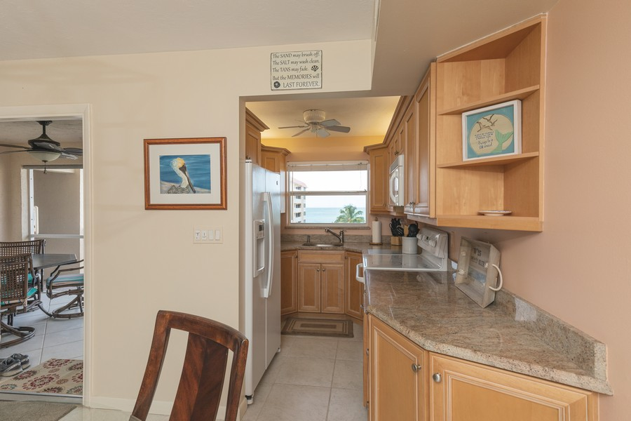 Real Estate Photography - 25730 Hickory Blvd #536, Bonita Springs, FL, 34134 - Kitchen