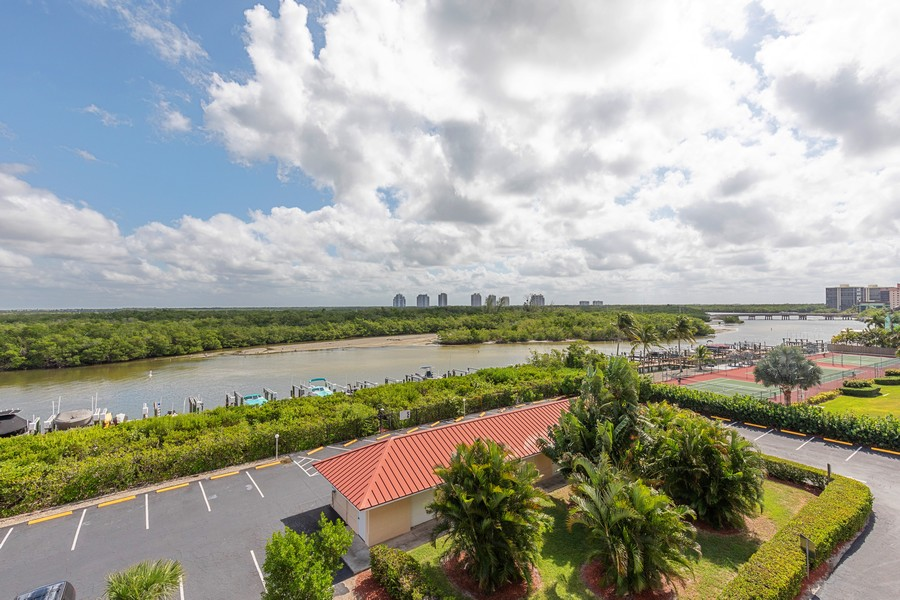 Real Estate Photography - 25730 Hickory Blvd #536, Bonita Springs, FL, 34134 - Tennis Court
