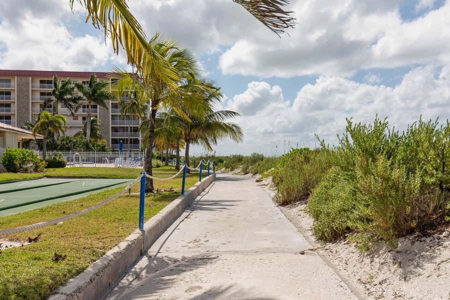 Real Estate Photography - 25730 Hickory Blvd #536, Bonita Springs, FL, 34134 - Walking Path