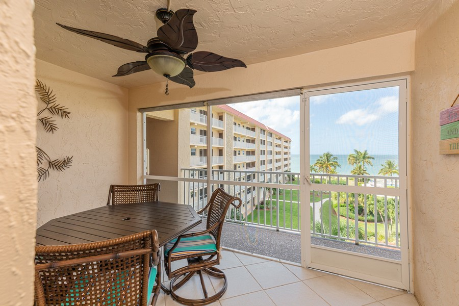 Real Estate Photography - 25730 Hickory Blvd #536, Bonita Springs, FL, 34134 - Lanai