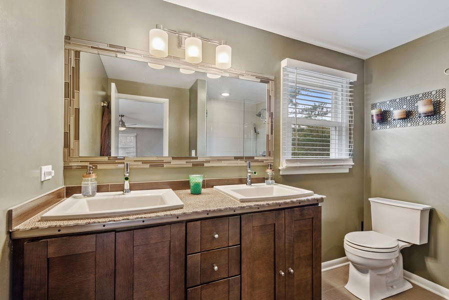 Real Estate Photography - 1560 Chapel Ct, Deerfield, IL, 60015 - Master Bathroom