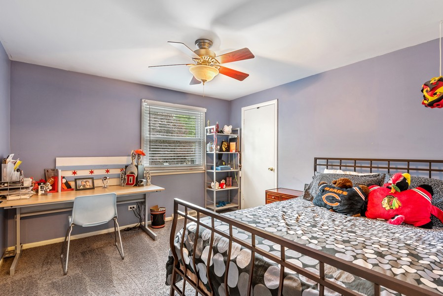 Real Estate Photography - 1560 Chapel Ct, Deerfield, IL, 60015 - 3rd Bedroom