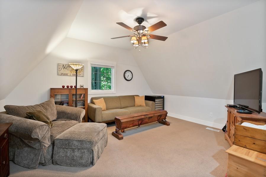Real Estate Photography - 27 Orchard Lane, Buchanan, MI, 49107 - Loft/TV Room