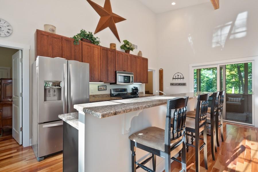 Real Estate Photography - 27 Orchard Lane, Buchanan, MI, 49107 - Kitchen Bar/Island
