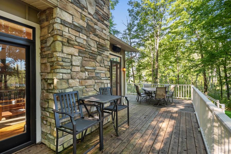 Real Estate Photography - 27 Orchard Lane, Buchanan, MI, 49107 - Side Deck