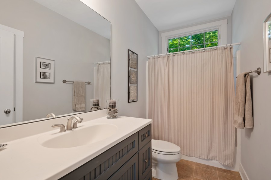 Real Estate Photography - 27 Orchard Lane, Buchanan, MI, 49107 - 2nd Bathroom