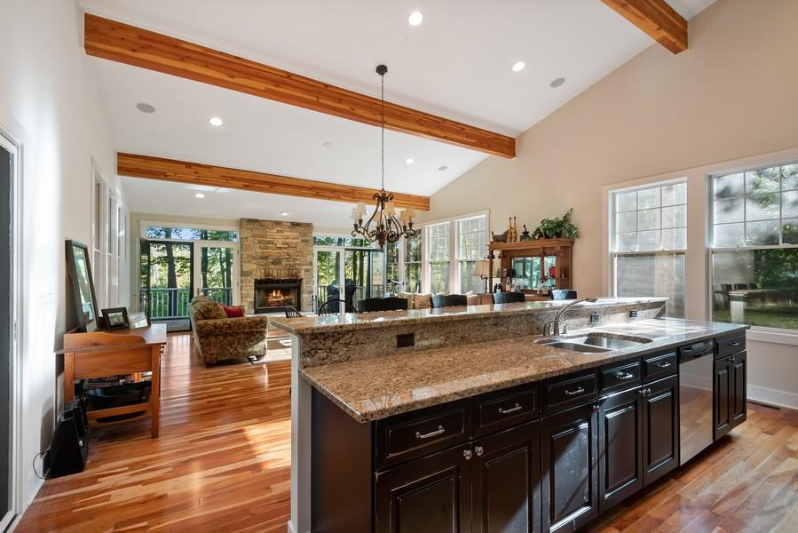 Real Estate Photography - 27 Orchard Lane, Buchanan, MI, 49107 - Kitchen / Living Room